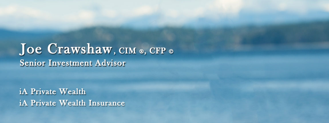 Joe Crawshaw, CIM, CFP, CDFA